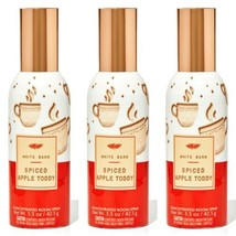 New Bath & Body Works Spiced Apple Toddy Concentrated Room Spray 3 Pc Set - $23.36