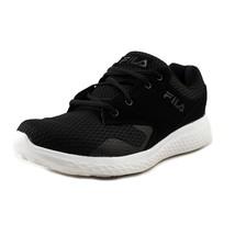 Fila Women's Layers Running Shoe Black, Black, White 7.5 B(M) US - $40.10