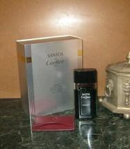 Vintage Cartier Eau De Sport Edt Men 100 Ml 3.3 Oz Gift Set W/ Cardholder Spray! - $183.15