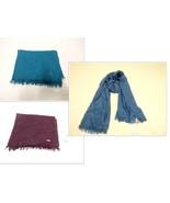 79.00 Calvin Klein Women's Cashmere-Wool Blend Fringed Shawl, - $9.95