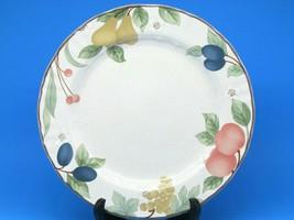 "Mikasa Country Classics Fruit Panarama 11"" Dinner Plates Set Of 5 - $57.23"