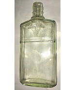 "Vintage Lavoris Mouthwash Bottle Glass 7"" No Top Raised Logo and Bottom ... - $12.85"