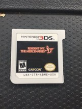 Resident Evil: The Mercenaries 3D (Nintendo 3DS, 2011) Cart Only  - $14.50