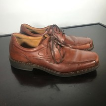 ECCO Mens 43/ 9-9.5 US Brown Leather lace-up Casual Comfort Dress Shoes  - $26.73