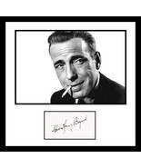 Ultra Cool - Humphrey Bogart - Movie Legend - Authentic Hand Signed Auto... - $199.99