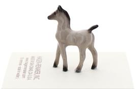 Hagen-Renaker Miniature Ceramic Horse Figurine Tiny Gray Colt