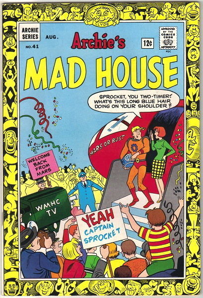 Archie's Madhouse Comic Book #41, Archie 1965 VERY FINE-