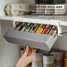 Home Kitchen Self-adhesive Wall-mounted Under-Shelf Spice Organizer Stor... - $31.58