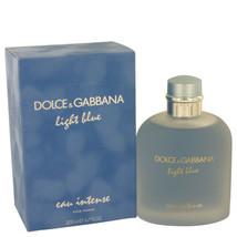Light Blue Eau Intense by Dolce & Gabbana Eau De Parfum Spray 6.7 oz (Men) - $127.39