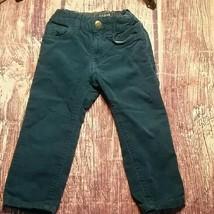 H&M L.O.G.G. blue corduroy kids pants size 1.5 - 2 - $11.76
