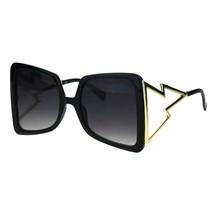 Super Oversized Square Sunglasses Womens Glamour Fashion Shades UV 400 - £9.36 GBP