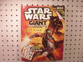 Bendon Star Wars Blast Attack Giant Activity / Sticker / Coloring Book 2014 - $6.34