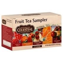 Celestial Seasonings Fruit Tea Sampler (6x18 Bag) - $39.00