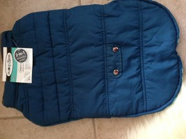 Wag & Bone 2-in-1 Reversible Dog Jacket - Large - Navy and Plaid - $19.69