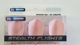 Winmau Stealth Pink Standard Dart Flights - $4.50