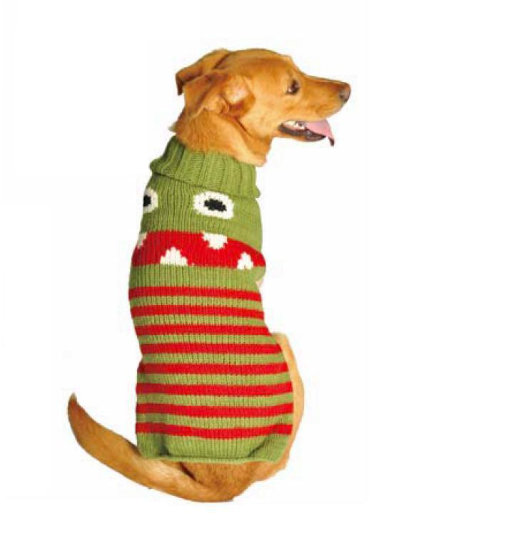 Primary image for Little Monster Dog Sweater Chilly Dog Hand Knit Wool  XXS-XXXL Pet Puppy Warm