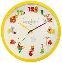New Disney Wall Clock Icon Analog Display Winnie the Pooh Arias  Japan - $60.76
