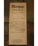"""Mortgage Su Articoli & Chattels 1916 per Un """" Mare Luminoso Maglia Skiff... - $22.20"""