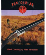 ORIGINAL Vintage 2002 Ruger Fine Firearms Catalog - $19.79