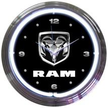 "Dodge Ram Truck Car Garage Neon Clock 15""x15"" - $69.00"