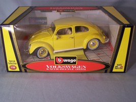 Volkswagen Kafer-Beetle 1955 1:18 scale diecast Burago Bburago Special Coll. - $38.22