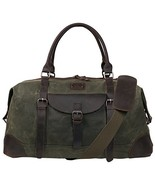 "Canvas Duffel Bag TOPWOLFS 22"" Travel Duffle Bag Tote Large Holdall Lugg... - $59.49"