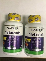2 Pack Natrol Melatonin Fast Dissolve Tablets, Strawberry flavor, 5mg, 150 Count - $25.64