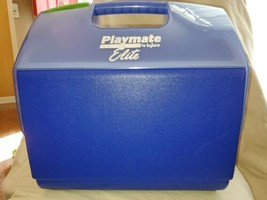 Little Playmate Elite Igloo Blue, Green Cooler Easy Open Button - $12.99
