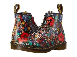 Dr. Martens WOMEN'S Boot Wanderlust Softy T AIRWAIR LEATHER 9M FLORAL MU... - $249.90