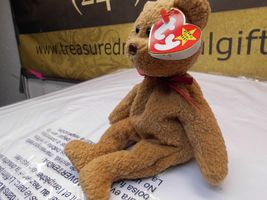 Rare Ty Beanie Babies Curly, Double Tush Tag and other errors image 5