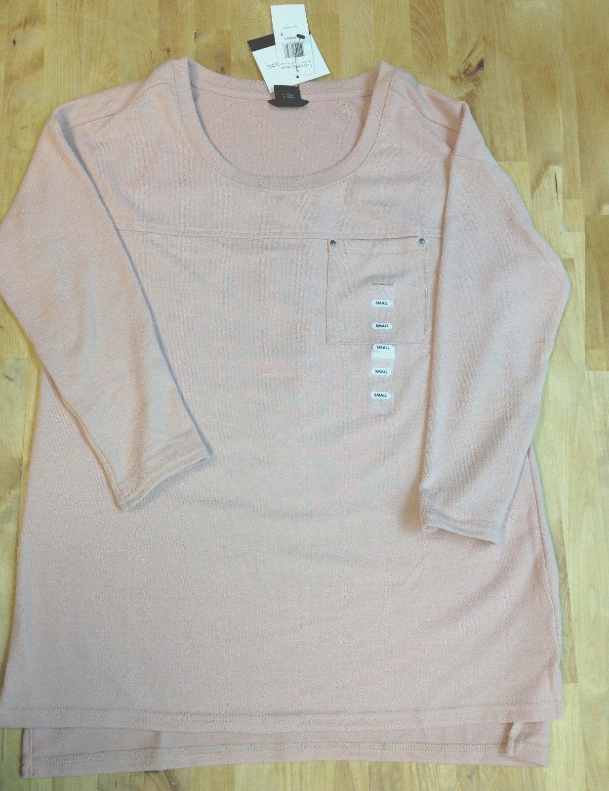 Calvin Klein womens Shirt, Misty Rose, Size S