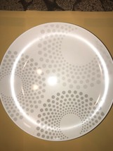 """4 Weight Watcher 10"""" White w/ Gray Dots (pattern And Color May Slightly ... - $27.72"""