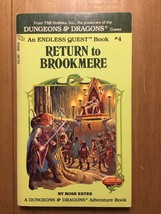 Endless Quest #4 - Return to Brookmere - 5th Edition! CYOA. Vintage! - $15.79