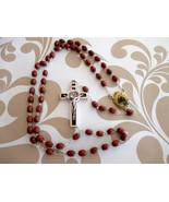 Rosewood Beaded Rosary - $16.00