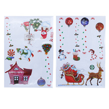 (as picture)Creative Removable Window Stickers Christmas Decorations for... - $20.00