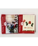 NEW Unopened 2 Boxes of 14 pack Holiday Boxed Cards with Envelopes - $7.88