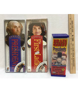 President & First Lady Ladies Trivia Information America Brain Quest Fandex 3 Ct - $23.50