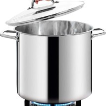 Commercial Grade LARGE STOCK POT 24 Quart With Lid - Nickel Free Stainle... - $137.99+