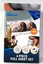 Jay Franco & Sons Disney Moana 4 Piece Full Sheet Set - $37.99