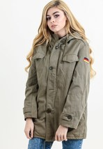 Authentic German Army olive Parka military coat jacket fur lining winter... - $60.00+