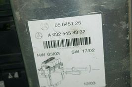 Mercedes W220 S430 S55 Rear Right Under Seat Fuse Relay Box SAM A-032-545-83 32 image 3