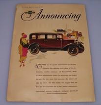 1930 Chevrolet Automobile ~ Original Print Ad ~ Car Auto Art - $6.18
