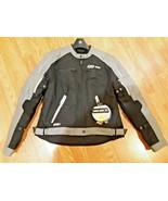 BRP Can Am Spyder Ladies Caliber Jacket 440600-0690 w liner Large Black - $168.29