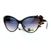 Womens Fashion Sunglasses Cateye Frame Rhinestones Rose Design Eyewear - $9.95
