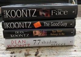 Lot of 4 Dean Koontz Hardcover Books - $14.50