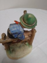 "Authentic Goebel M.J. Hummel ""Retreat To Safety""Figurine #201 2/0 Early Goebel 1 image 2"