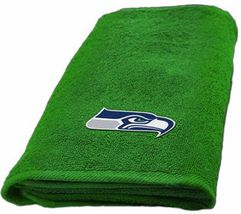 Seattle Seahawks Hand Towel measures 15 x 26 inches - $16.95