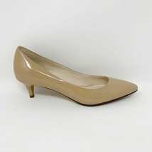 Cole Haan Signature Womens Nude Beige Faux Patent Leather Pumps, Size 7.5 - $21.73