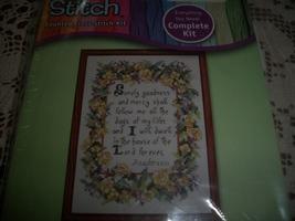 Rose Psalm Cross Stitch Kit 999-1010 - $7.00