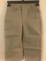Togar Kids Girls School Uniform Capri Pants Size 6 Slim - $6.89